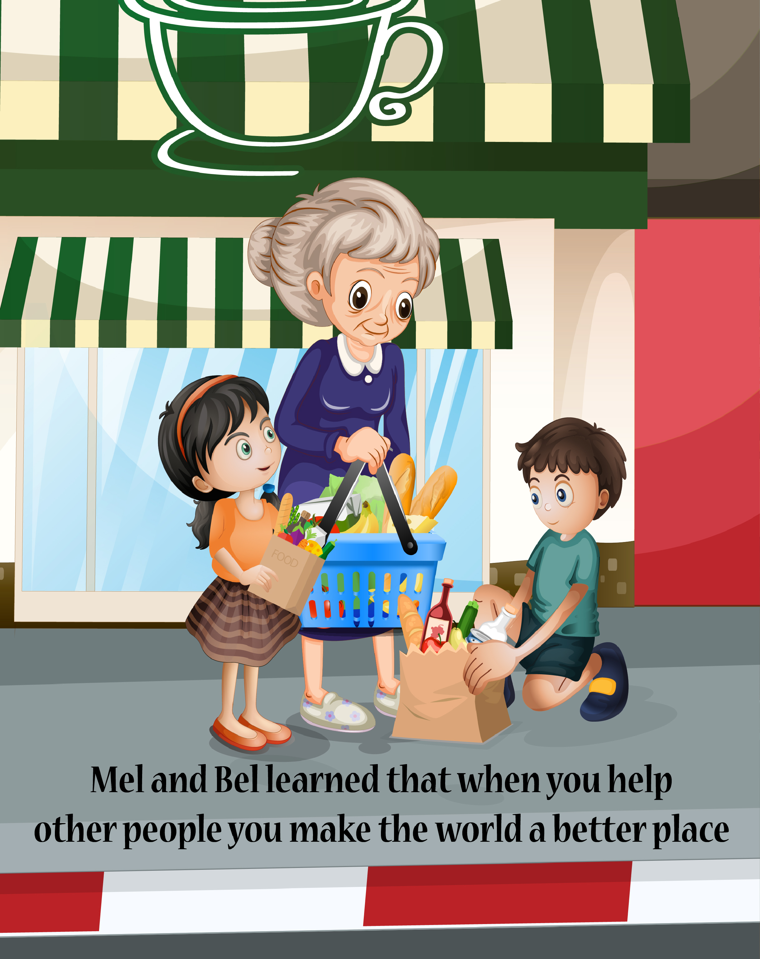 Teaching Kids Values: Helping others